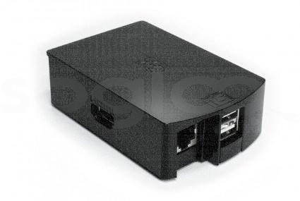 Case per Raspberry Pi Model B colore nero