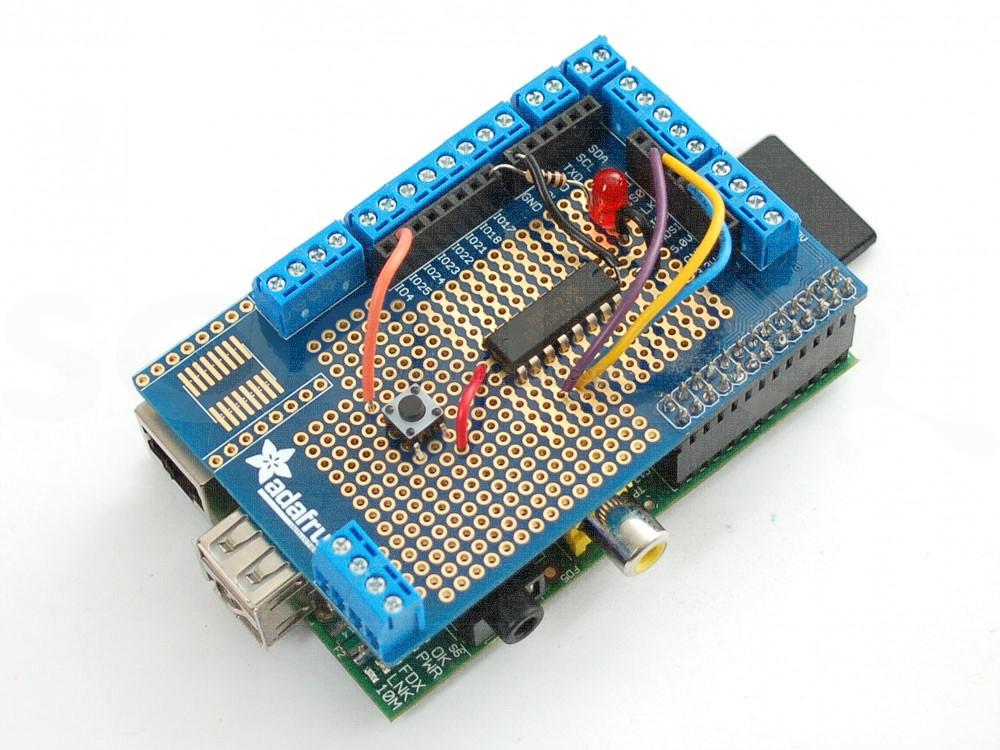 Kit di prototipazione per Raspberry Pi