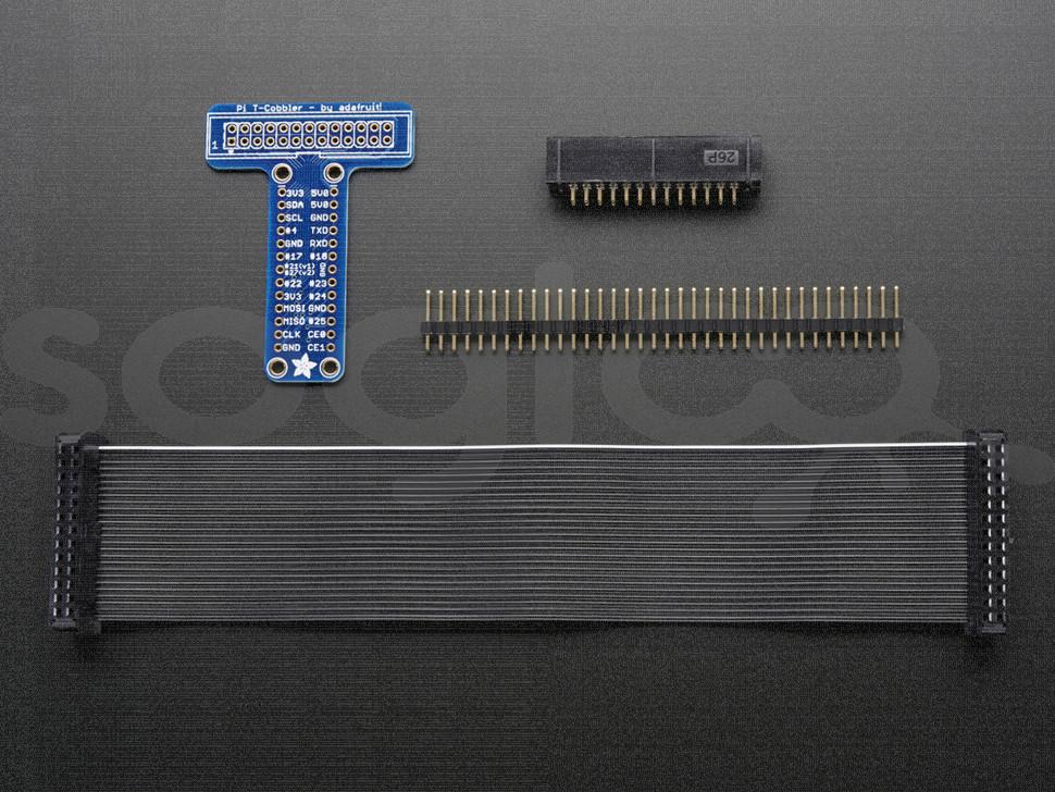 Adafruit Pi T-Cobbler Breakout Kit for Raspberry Pi