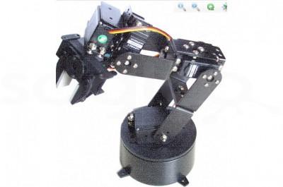 Braccio robotico 6 DOF