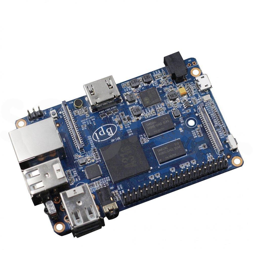 Banana Pi BPI-M2 quad core single-board computer