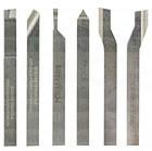 Serie di 6 utensili per tornitura in pregiato acciaio