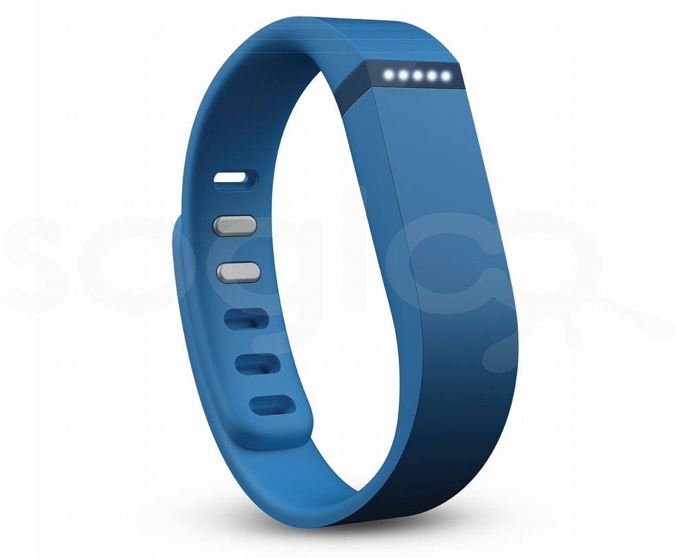 Fitbit Flex Blue - Braccialetto Activity Tracker, sonno