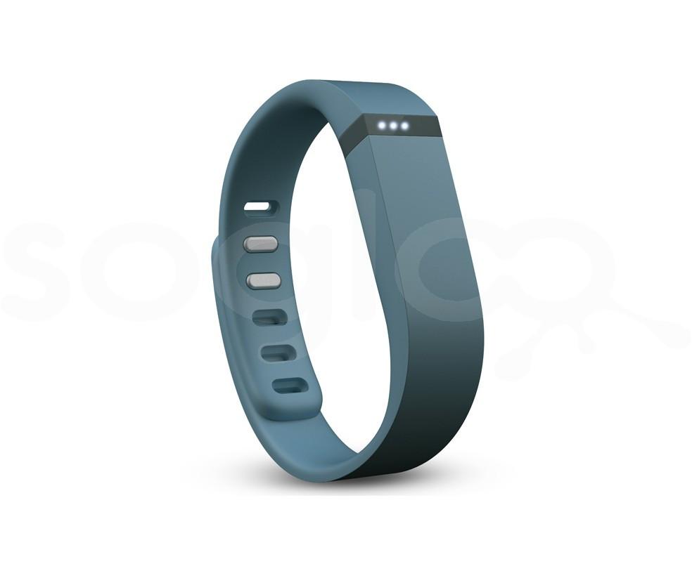 Fitbit Flex Slate - Braccialetto Activity Tracker, sonno e attività