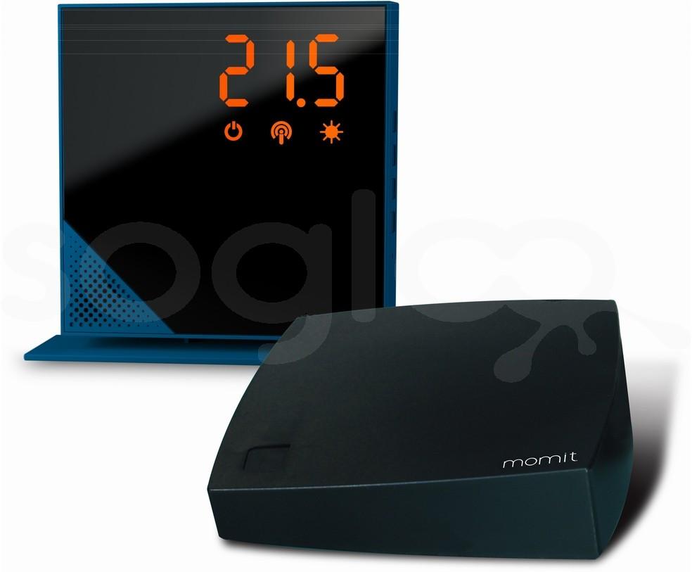 momit Home Thermostat Summer Blue - Termostato Digitale Wi-Fi