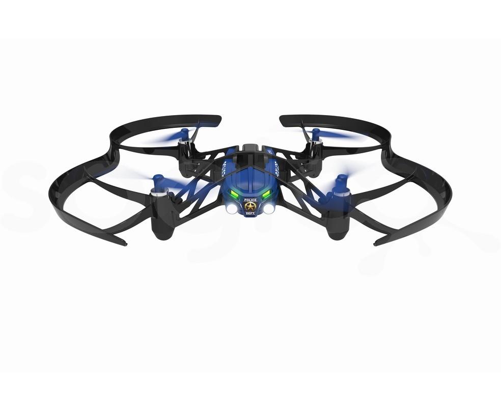 Minidrones - Airborne Night Maclane con Luci led - Blu