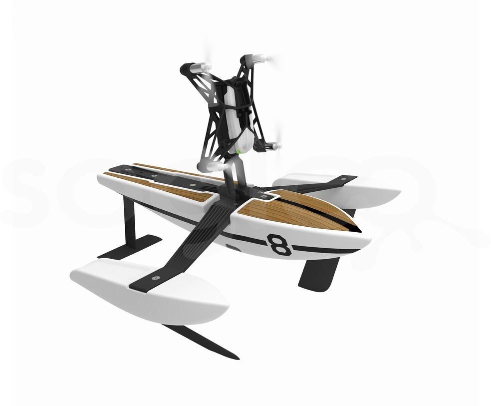 Minidrones - Hydrofoil Newz - Bianco