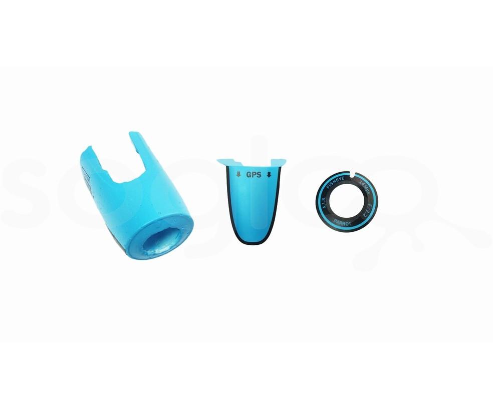 Muso in PPE Blu per Drone Bebop