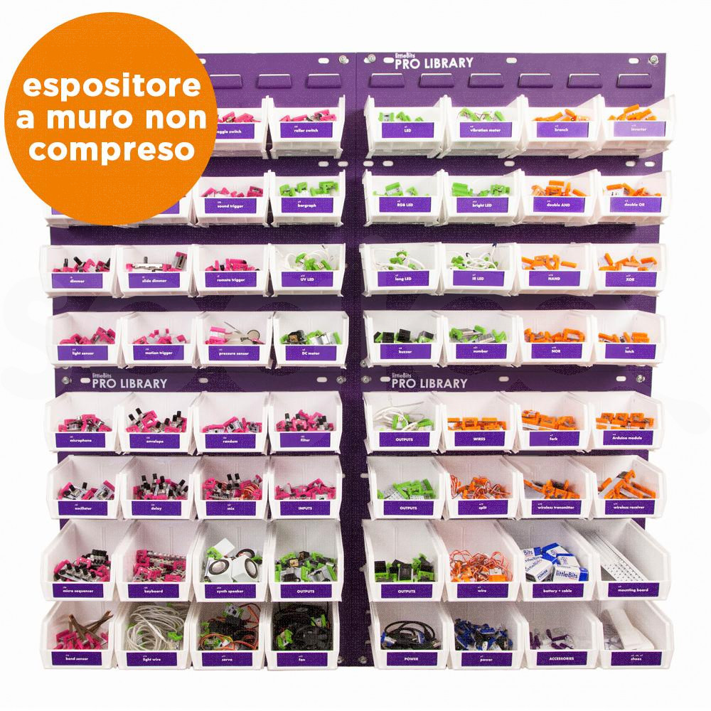 littleBits - Pro Library senza espositore a muro