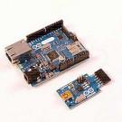 Arduino Ethernet SENZA PoE + Convertitore USB/Seriale