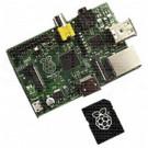 Raspberry Pi Tipo B con scheda SD
