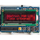 RGB Negative 16x2 LCD+Keypad Kit for Raspberry