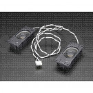 Stereo Enclosed Speaker Set 3W 4 Ohm