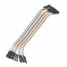 Jumper Wires - 15 cm (F/F, 20 pack)