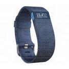 Fitbit Charge Hr Blue L - Braccialetto Battito Cardiaco + attività