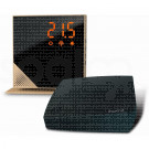 momit Home Thermostat Luxury Gold - Termostato Digitale Wi-Fi