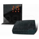 momit Home Thermostat Pure Black - Termostato Digitale Wi-Fi