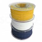 Kit 3 Bobine filamento 3D PLA 1,75 mm Bianco-Giallo-Blu - 1 Kg